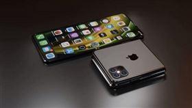 圖/翻攝自ConceptsiPhone,摺疊款iphone