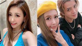 大陸網友瘋傳「羅志祥(左)現在正式和蝴蝶姐姐在一起了」。(圖/翻攝自愷樂IG)