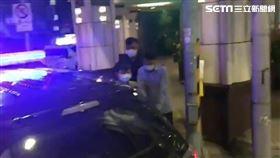 北市邱男兩度點火燒毀飯店床墊。(圖/翻攝畫面)
