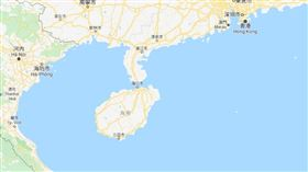 海南島。(圖/翻攝自Google map)