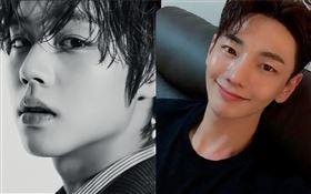32歲南韓演員朴志勳(音譯,박지훈,左邊)胃癌病逝,跟朴志勳撞名的歌手朴志訓(韓文同為박지훈,右邊)也意外被誤傳死訊。推特