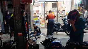 台北,西門町,砍人,酒吧,搭訕(圖/翻攝畫面)
