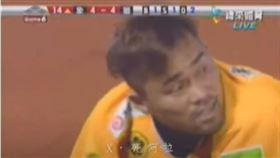 ▲朱鴻森曾在2009年的台灣大賽衝三壘出局。(圖/翻攝自YouTube)