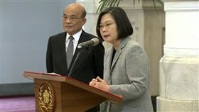 蔡英文、蘇貞昌宣布將捐出口罩幫助疫情嚴重的盟友、國家的醫護人員