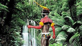 巴西,原住民,戰士,亞馬遜(圖/翻攝自pixabay)