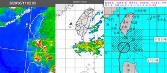 最強梅雨鋒面襲 吳德榮:防致災大雨