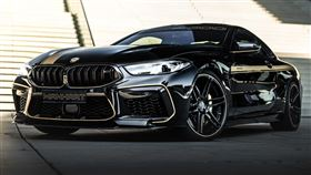 ▲BMW M8 Competition Coupe by Manhart(圖/翻攝自官網)