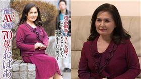 70歲的超級成熟女優中島洋子 圖/網路 推特