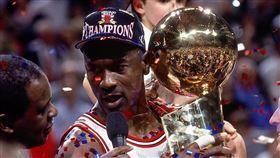 Michael Jordan,最後之舞,喬丹。(圖/翻攝自公牛推特)