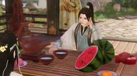 中國線上遊戲《逆水寒》疑似抄襲動物森友會。(圖/翻攝自逆水寒微博)