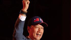 2020鴻海尾牙,創辦人郭台銘,董事長劉揚偉 圖/鴻海提供