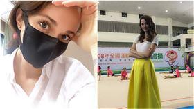 瑞莎,文化大學,博士班,體操。翻攝自臉書
