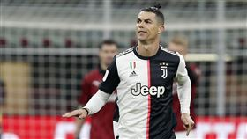 ▲「C羅」Cristiano Ronaldo足壇影響力不敵卡達富商。(圖/美聯社/達志影像)