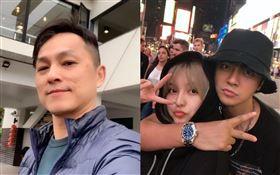 羅志祥、周揚青,狄志偉 微博/臉書