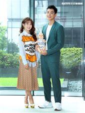 郭書瑤、禾浩辰出席「未來媽媽」卡司發布記者會。(記者邱榮吉/攝影)