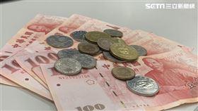 鈔票、紙鈔、硬幣,示意圖/資料照
