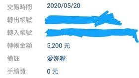 520,匯款,悲劇,下場,帳戶(翻攝自 爆怨公社)