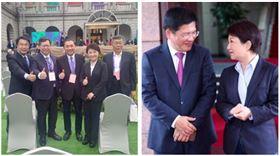 ▲五都市長、盧秀燕林佳龍(組合圖,資料畫面)