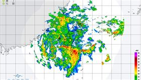 21日至23日滯留鋒面及西南氣流影響,氣象局預計下午14時啟動較大規模或較劇烈豪雨作業。(圖/翻攝自氣象局)