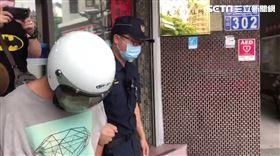台中中華路夜市火警、縱火/翻攝畫面