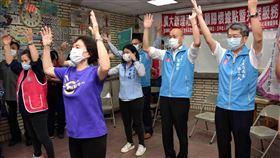 韓國瑜,跳舞,消音,五甲老人活動中心