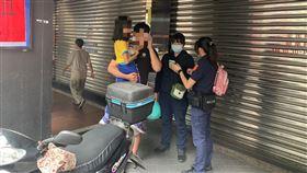 基隆女童夢遊離家(圖/基隆市警察局第一分局提供)