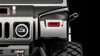 4輪能轉向 悍馬電動概念車