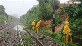 土石流,台鐵,新豐,竹北,豪雨 台鐵提供