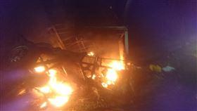台南,火燒車,焦屍,羊奶