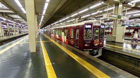 ▲日本大阪梅田車站滿滿的變態。(圖/翻攝自Google Maps)