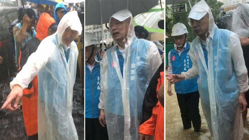 韓國瑜喊3年內解決水患⋯網揭當選承諾:說好的6個月呢?