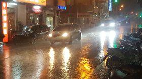 澎湖罕見雨勢 全島累積均破百毫米