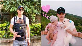 JR紀言愷,女兒,寵物,吃醋。翻攝自臉書
