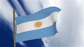 阿根廷國旗。(圖/翻攝自pixabay)