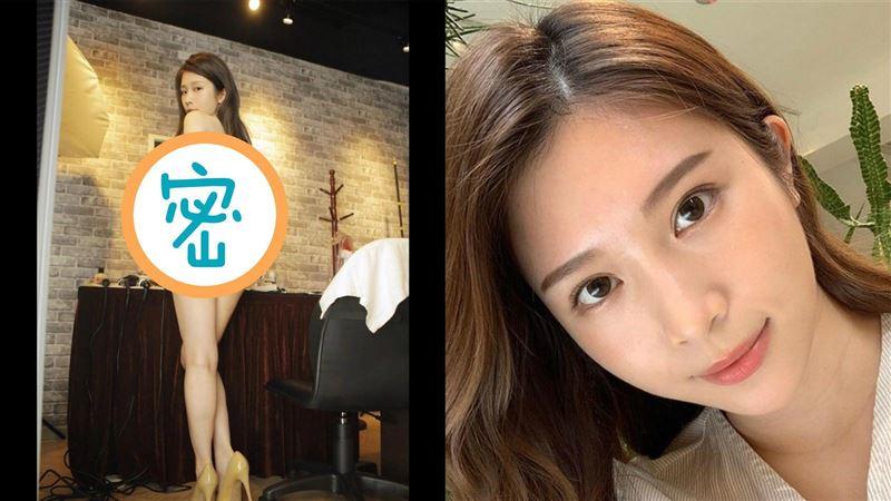 沒穿褲子!雞排妹「蜜桃美尻」直接見客 網嗨爆:吹彈可破