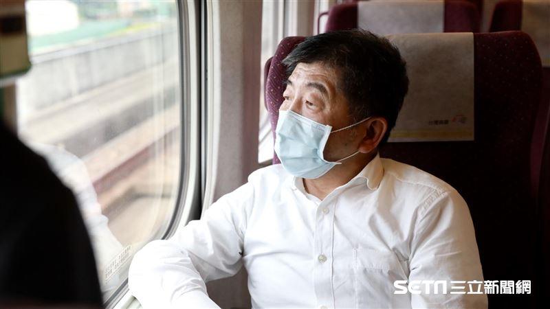 「來去墾丁」 陳時中開心搭高鐵:不反對飲食但站票要慎重