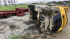 工安意外,堆高機,台南