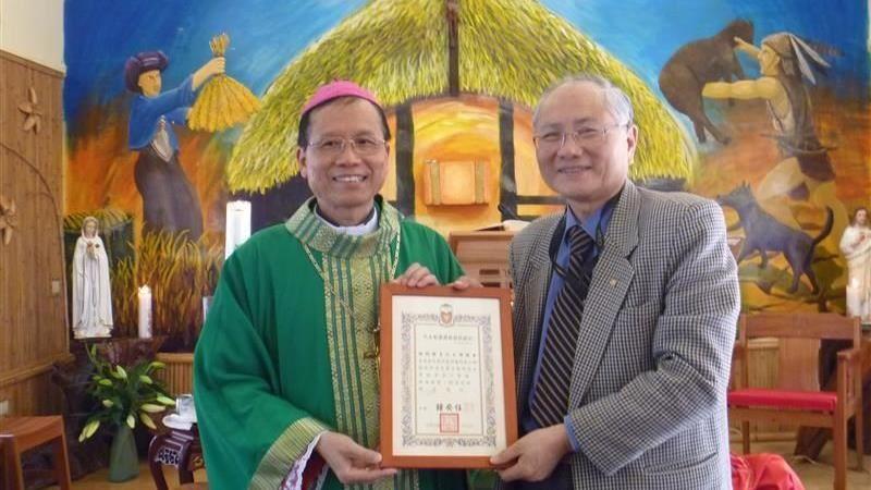 天主教台北總教區總主教 鍾安住接任