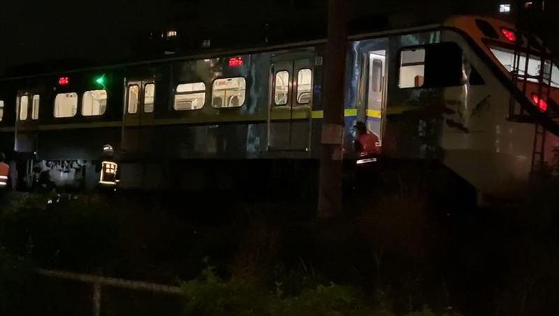 快訊/台鐵桃園段深夜傳死傷事故 雙向列車皆延誤
