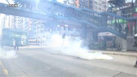 香港,國安法,遊行,港警,催淚瓦斯,開槍(圖/AP影音授權)