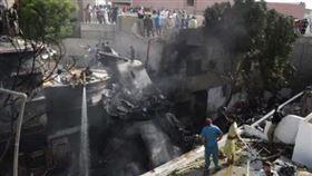 ▲巴基斯坦空難。(圖/翻攝自推特)