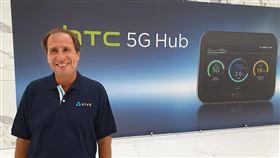 法電信商大將加入HTC陣營 拚轉型數年前HTC在倫敦舉辦阿福機發表會時,梅特爾就以法國最大電信商ORANGE的身分來參加,王雪紅讚許他是難得懂得VIVE、5G、AI、內容等各項領域的人才,很榮幸他願意搬到台灣來跟HTC一起打拚。中央社記者江明晏攝 108年9月17日