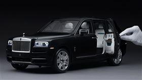 ▲勞斯萊斯Rolls-Royce 1:18 Cullinan模型車。(圖/翻攝Rolls-Royce網站)