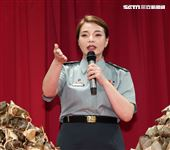 校園網劇「教官怎麼辦」演員張可昀(小甜甜)。(記者邱榮吉/攝影)