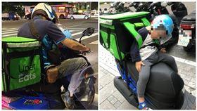 24歲爸早上做工…再背3歲兒外送到凌晨「為了他值得」,圖/翻攝自臉書