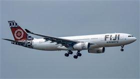 斐濟航空。(圖/翻攝自維基百科,版權屬公有領域)