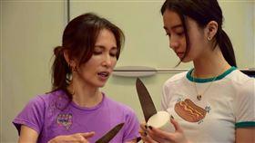 木村光希曬出與媽媽下廚照。(圖/翻攝自光希IG)