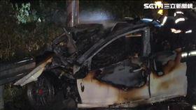 自撞,火警,車禍,燃燒(資料圖)