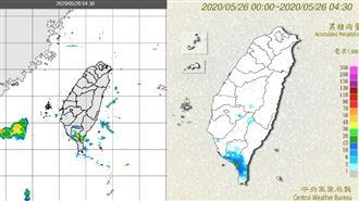 雨下4天再轉暖 吳德榮:防劇烈天氣