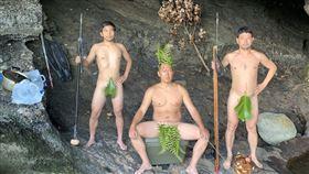 再現黃金傳說?3男終極隔離…「無人島」野外求生1個月(圖/翻攝自@ken_osak推特)